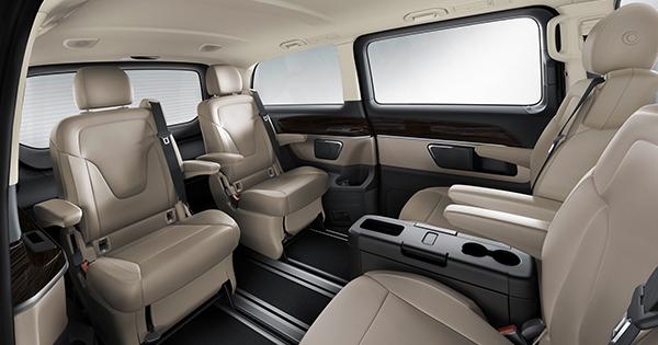 Minivan met chauffeur - Luxury